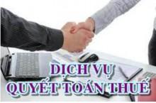 Dịch vụ quyết toán thuế thu nhập doanh nghiệp tại Hà Nội